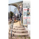 Przegubowa drabina teleskopowa TeleVario® 4x4 szczeble